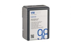 bebob V98micro VMount Li-Ion Battery